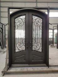 Openable Windowsが付いているベストセラーの錬鉄のドア