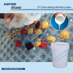 Além disso-2/platina RTV Transparente de cura Molde/fazer moldes em borracha de silicone líquido para Rhinestones resina