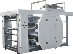 Cuatro colores de doble cara máquina de impresión Flexo en línea