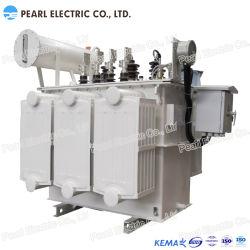 Sz11-100~2500kVA (10KV) de Transformator van de Distributie van Immmersed van de Olie met op-ladings kraan-Wisselaar