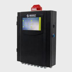 Pantalla LCD multi canal Panel de control del detector de gas