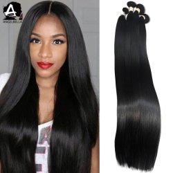 Angelbella Brazilian Hair Weave Bundel Zonder Kort Haar Onbehandeld Virgin Human Hair