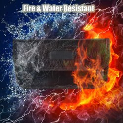 حقيبة Faraday مقاومة للحريق حجب إشارة RFID حجب حقيبة حجب الحماية محفظة الحقيبة حالة حماية خصوصية الهاتف المحمول ومفتاح السيارة