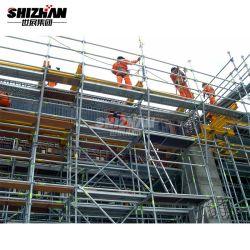 Certificado CE de la construcción de la construcción del sistema de andamios Ringlock piezas de material para la venta