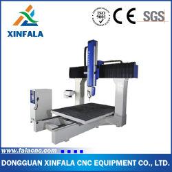 5 rebajadora CNC de ejes de la máquina de grabado para Composite