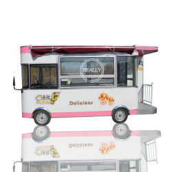 Elektrische China mobiele Food Truck Food Bus te koop