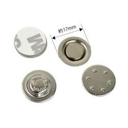 D17mm D20mm magnetisches rundes Tasten-Namensabzeichen-Halter-Metallnamensmarken-Abzeichen