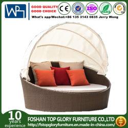 Jardín Piscina Playa Desarmado de aluminio muebles de patio diván cama Salón de rota