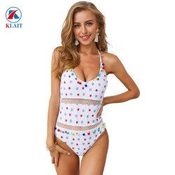 Le design de mode Star V de la forme d'impression Sexy Mesdames Femmes monobloc Romper Slim de maillots de bain