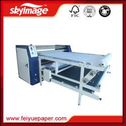 승화 이동 인쇄를 위한 드럼 롤러 열 압박 기계 420mm*1900mm