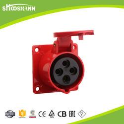 4p 32A IP67 экономичные поверхностного промышленного разъема