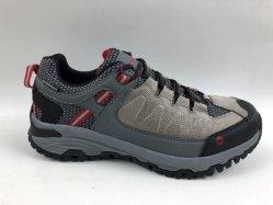 3つのカラーオックスフォードファブリック+靴をハイキングするPUの屋外スポーツ