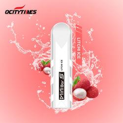 Le bon goût Ocitytimes Minibar de gros S E cigarette jetable avec d'énormes de la vapeur