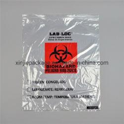 Biohazards сумки/медицинской биологическую опасность Speciment ЭБУ подушек безопасности/LDPE рекламных медицины Упаковка Мешки