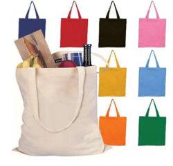 Cotone piegante del sacchetto di acquisto di vendita della chiusura lampo della tela di canapa del Tote organico caldo del tessuto
