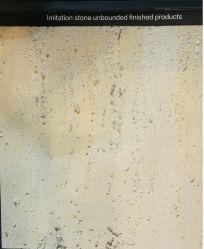 Mosaico de piedra de Travertino ignífugo para pared