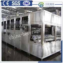 Automatique de l'eau minérale pure baril 5 gallons / usine de machines de remplissage