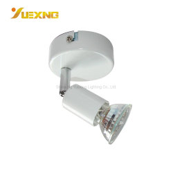 Max 50W GU10 l'éclairage de l'ampoule en verre Réglable Mini spot LED plafond Fer ronde intérieure Spotlight