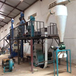 Vollautomatischer zerquetschenzerkleinerungsmaschine-Mais-Weizen-Mais-Getreidemühle-Fräsmaschine-Preis