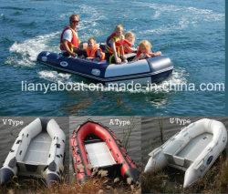 Navi di soccorso gonfiabili di Liya 2m-6.5m con il motore