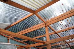 Polycarbonat-Haus-Dach