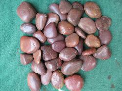 China polierte roten Kiesel-Stein mit Qualität
