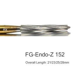 De carburo dentales Endo Z rebabas 21/23/25/28 mm rebabas quirúrgico FG-152