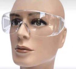 Lentille PC Impact anti-poussière des lunettes de protection de la sécurité Googles