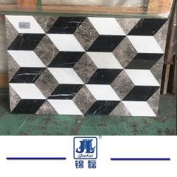 Cube Magique classique chinois/briques combinés carreaux de marbre de paroi de fond-de-chaussée