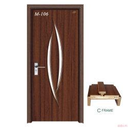 Mobiliario de casa de la puerta de PVC de alta calidad carcasa