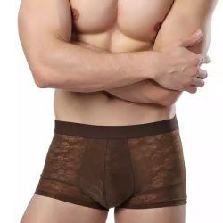 Alta calidad de impresión personalizada de bambú suave de ropa interior para hombres