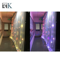 LED Cortina centelleantes estrellas como telón de fondo de Tela cortinas decoración de boda