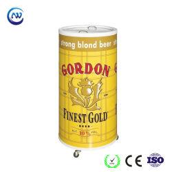 Affichage Commercial réfrigérateur réfrigérateur canon rond bouteille de boisson d'affichage de la bière des parties peut le refroidisseur (SC-75T)