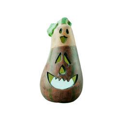 L'aubergine en céramique Bougeoir Arts pour la décoration d'Halloween