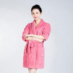 2020 a las mujeres calidez Super suave vellón Coral SPA/Albornoz, el Hotel terciopelo Albornoz Damas vestido de noche