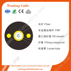 Gyfxy 2/4/8/12/24 Câble fibre optique non métalliques de base