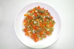 Neues Getreide-frisches eingemachtes Mischgemüse mit preiswertem Preis