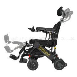 Subir escaleras discapacitados de energía portátil ligero plegado manual de acero de aleación de aluminio plegable de equipos de Terapia Física eléctrica Foshan Sport Silla de ruedas