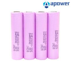fonte de alimentação de iões de lítio de 18 V recarregável 18650 LiFePO4 eBike Power Ferramenta Lipo INR 8A bateria de lítio rosa para o conjunto de acessórios 18650-35e