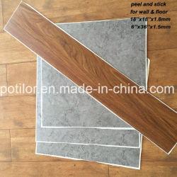 Suelos de baldosas autoadhesivas de PVC / Pelar y Stick Piso / Self-Stick pisos de vinilo