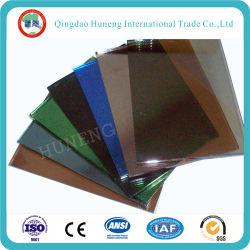 4mm-10mm Bleu foncé/vert foncé/gris foncé/bronze/vert clair /Ford verre réfléchissant bleu
