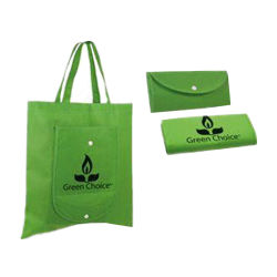 Портативный складной супермаркет магазинов Non-Woven ткань сумка не тканого женская сумка с индивидуальным дизайном логотип
