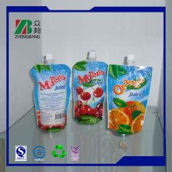 جراب بلاستيكي للطباعة مخصص لحامل الطابعة مع فتحة لتغليف العصير