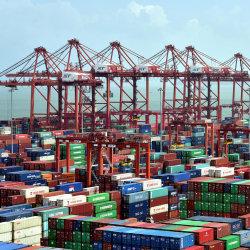 Transport de conteneurs en provenance de Chine à Anguilla Road Bay