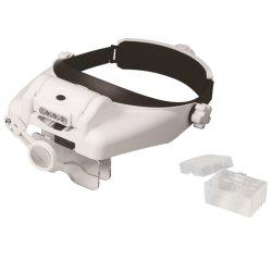 LED ヘッドバンド拡大鏡歯科用拡大鏡歯科用拡大鏡 1.0x 、 1.5x 、 2.0x 、 2.5X 、 3.5x 、 8 倍