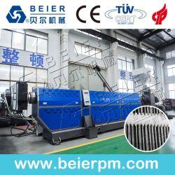 Linea di produzione di riciclaggio di plastica di pelletizzazione della macchina del granulatore del PE dei pp residuo