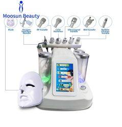 Aperto da pele de RF com LED de fótons de ultra-sons de íon de Dispositivo de beleza facial 7 em 1