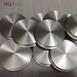 PVD를 위한 고품질 침을 튀기기 표적 둥근 티타늄