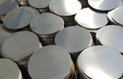 Chapas laminadas a frio 201/410/430 2b-Ba Círculo de aço inoxidável de diâmetro de mistura