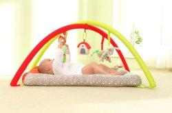 Tres Amigos de la granja de bebé oso de peluche juguete Playmat